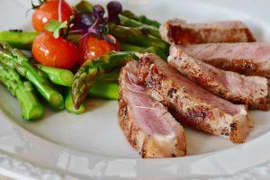 beztłuszczowe pieczenie mięs